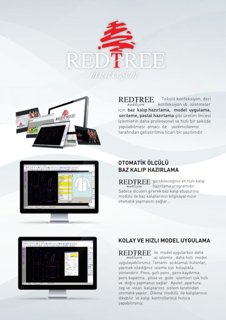redtree flash makina cad yazılımı modelhane yazılımı